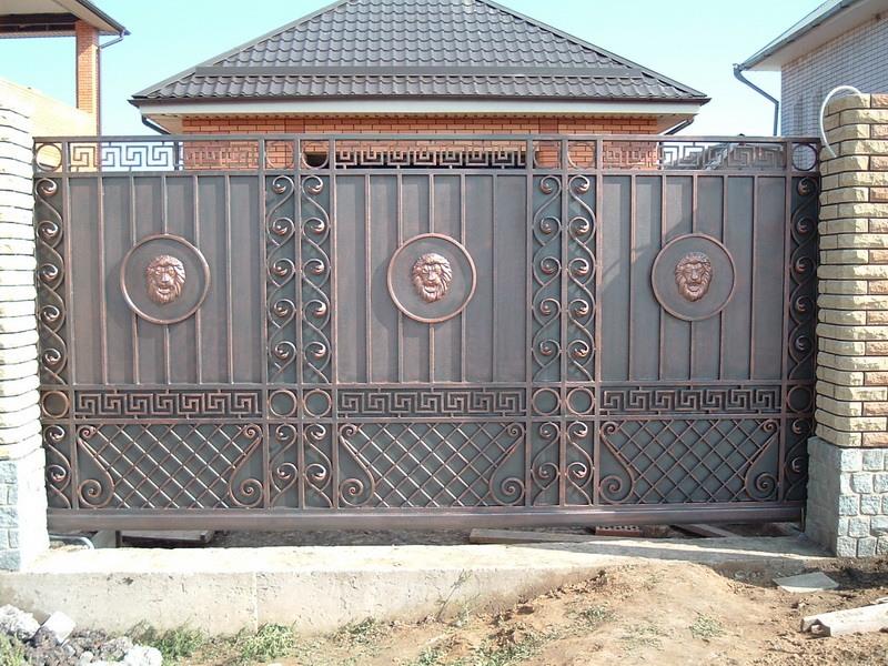 Железный вороты калитки ворота откатные цена ижевске