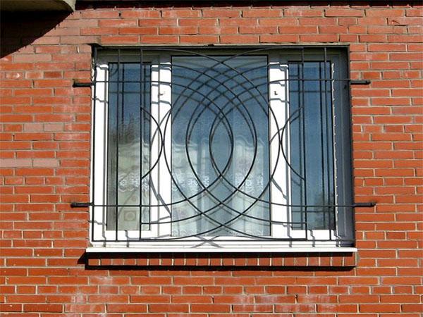 Решетки на окна металлосварные
